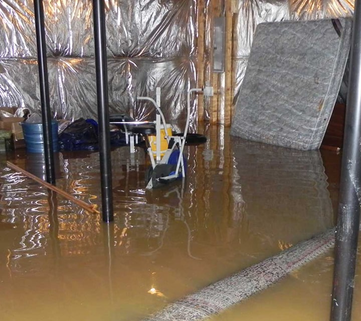 Flooded Basement Water