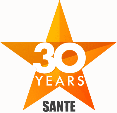 Sante 30 Years in Business